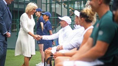 Camilla, Duchess of Cornwall, Day 9 of Wimbledon 2019
