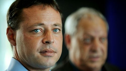 David Hicks at a press conference in 2011. (AAP)