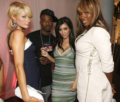Ray J, Kim Kardashian
