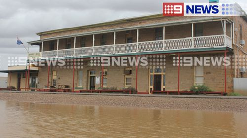 Parts of South Australia have received as much as 120 millimetres in 24 hours. (9NEWS)