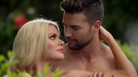 Sophie Monk's Adam and Eve photoshoot