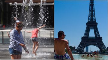 Parts of Europe will be hit with a heatwave this week, with France and Germany expected to be hit at any moment.