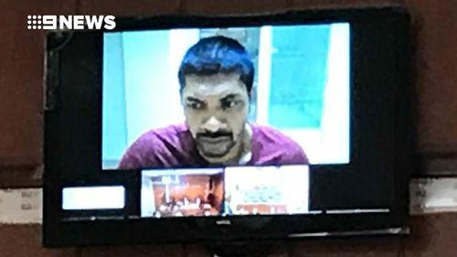 Melbourne-based Neil Prakash appears in a Turkish court via video link.