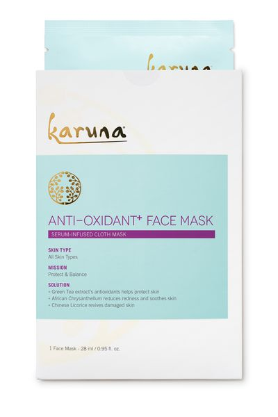 "<a href=""http://mecca.com.au/karuna/antioxidant-face-mask/I-022471.html"" target=""_blank"">Karuna Antioxidant Face Mask, $11.</a>"