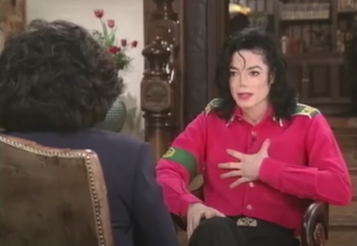 Michael Jackson on Oprah