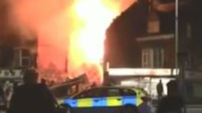 Massive explosion rocks English city