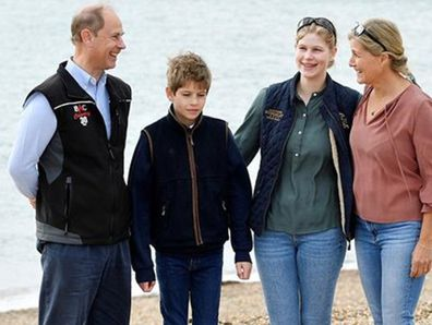 Prince Edward, Sophie of Wessex and children