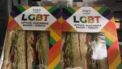 LGBT Sandwich causes outrage
