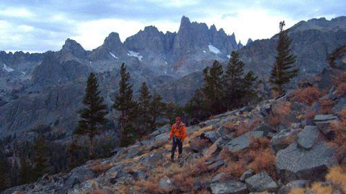 Searchers scoured the Sierra Nevada mountain range in the hopes of finding Steve Fossett.