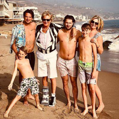 Rod Stewart: 8 kids