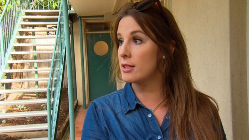 Police officer Christianne has lost two tenants because her unit has Jamie as a neighbour.