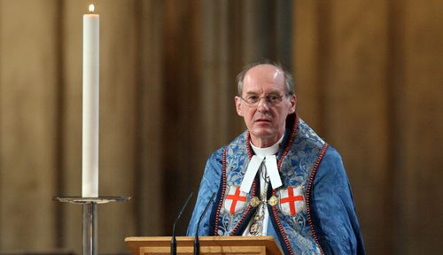 The Right Reverend David Conner who will conduct the wedding service. (AAP)