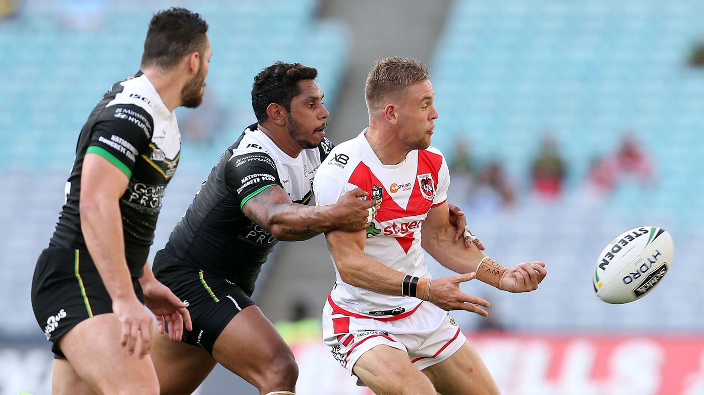 St George Illawarra fullback Matt Dufty shines but Dragons rusty against Hull