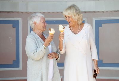 The Duchess of Cornwall and Judi Dench, July