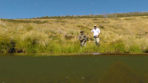 The cabins are perfect for a fishing getaway. (9NEWS)