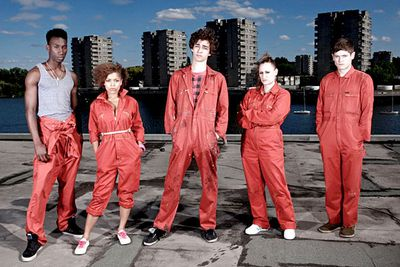 <B>What to recommend:</B> <I>Misfits</I>. This British series, about a gang of chavs who gain superpowers, has it all: sci-fi, comedy, high-stakes drama. The first couple of seasons are <I>seriously</I> addictive, so don't recommend this to Geeky Friend if you need them to urgently do you a favour or something.<br/><br/><B>Back-up recommendations:</B> <I>Fringe</I>, <I>Terminator: The Sarah Connor Chronicles</I>.