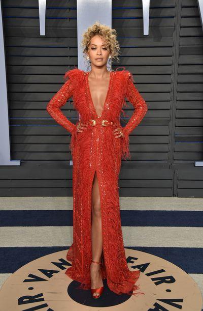 Rita Ora wears double denim outfit from Diesel in New York ...