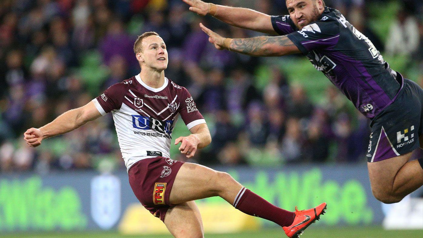 NRL: Hasler's Manly stun Melbourne Storm in golden-point thriller