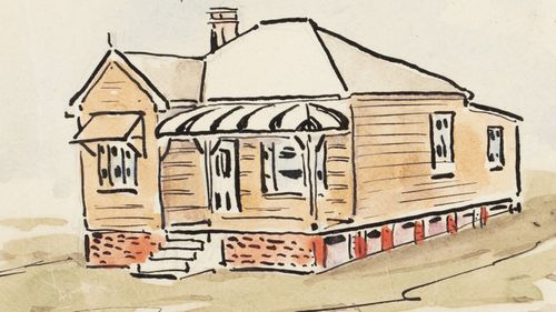 Artist's notebook reveals what Sydney's real estate market was like a century ago