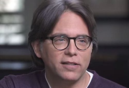 Still from Keith Raniere video (YouTube)