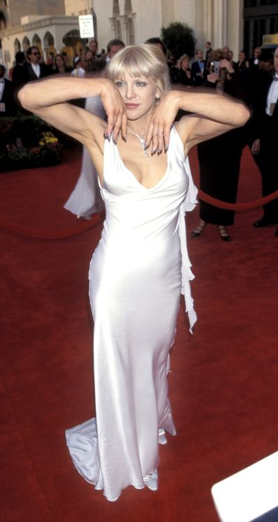 Courtney Love's comeback at the 1997 Academy Awards.