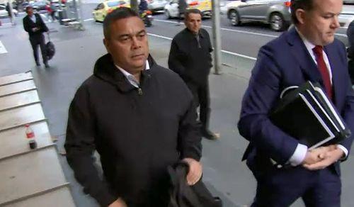 senior constable Simon Mareangareu was sentenced to 12 months' prison.