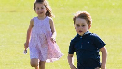 Prince George and Princess Charlotte, June 2018