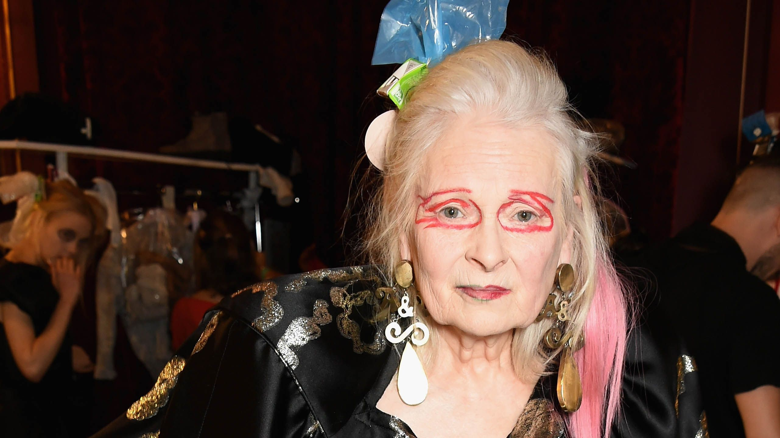 Vivienne Westwood becomes a model at 75