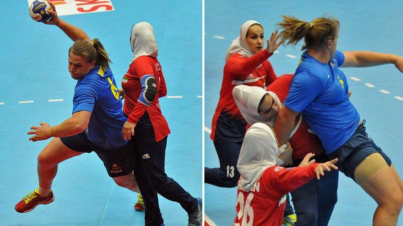 Hannah Mouncey helps Australia qualify for Women's World Handball Championships