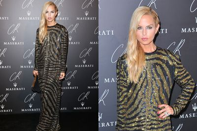It wouldn't be Paris Fashion Week without resident stylist-turned-designer Rachel Zoe.
