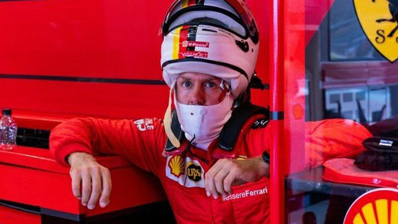 Sebastian Vettel frustrated, as Lance Stroll tops British Grand Prix practice