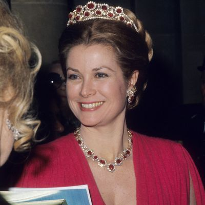 Grace Kelly at the Versailles Palace Ball, 1973