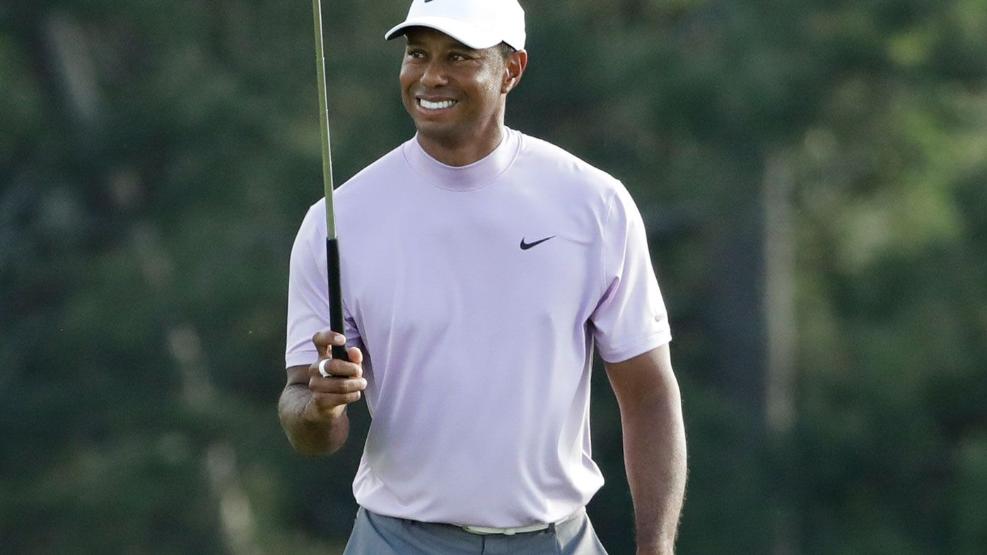 Tiger Woods in position to claim first major since 2008 as Aussies struggle
