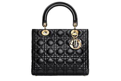 A Lady Dior bag