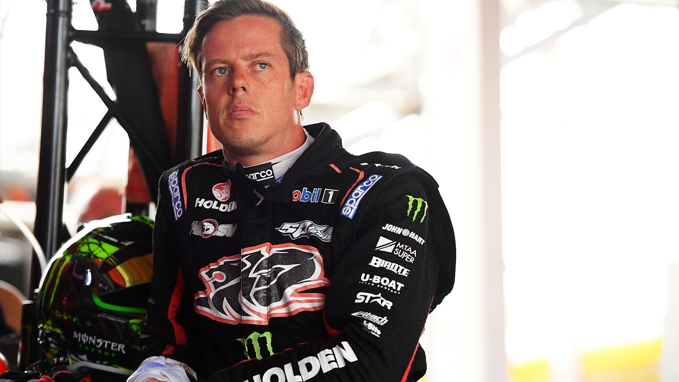 'Handing out the resume': Supercars star James Courtney uncertain over future
