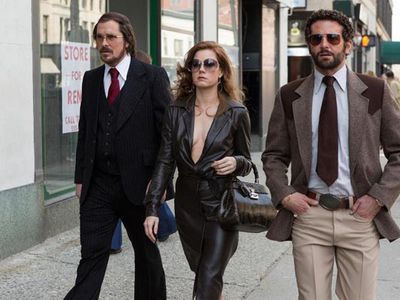 <strong> Best Actress in a comedy or musical: Amy Adams, <em>American Hustle</em></strong> <p><br/>2014 looks like it could be a fantastic year for Amy Adams, especially as she's been nominated for a Golden Globe. Here's who she's up against...<br/><br/>Amy Adams - <em>American Hustle</em><br/>Julie Delphy - <em>Before Midnight</em><br/>Greta Gerwig - <em>Frances Ha</em><br/>Julia Louis-Dreyfus - <em>Enough Said</em><br/><span>Meryl Streep - <em>August: Osage County</em></span>