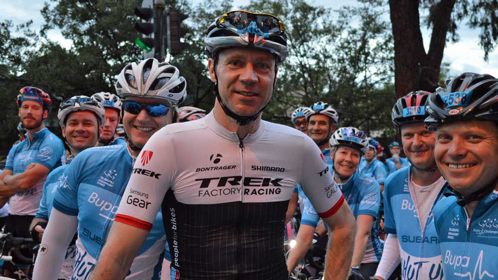 Jens Voight and his Shut Up Down Under team. (TDU)