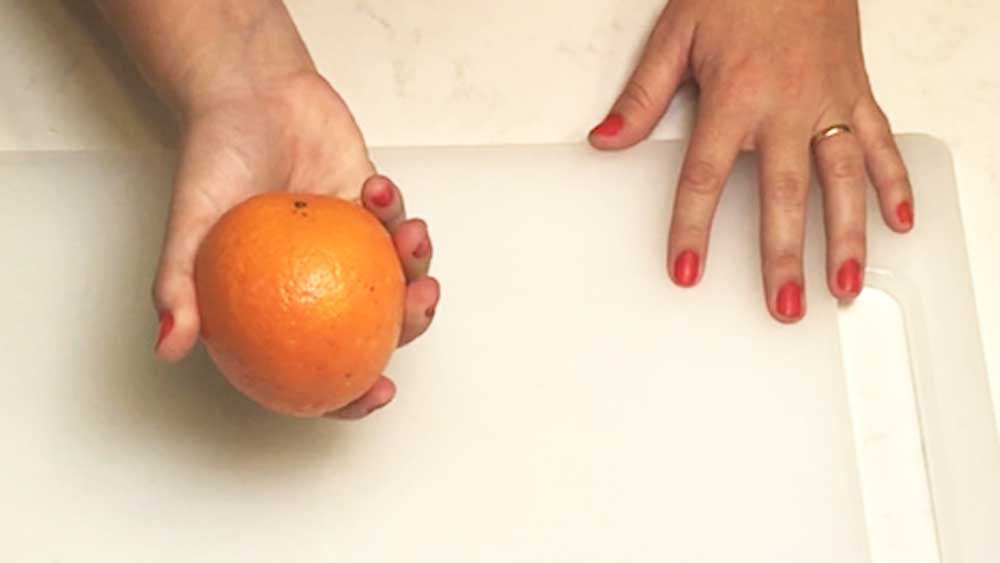 The orange peeling hack
