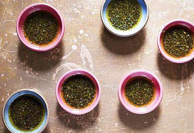 Argentina: Chimmichurri sauce