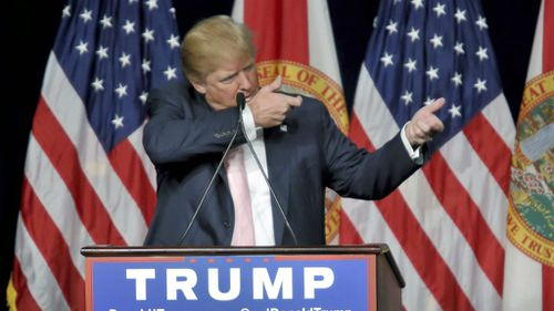US presidential hopeful Donald Trump. (AAP)
