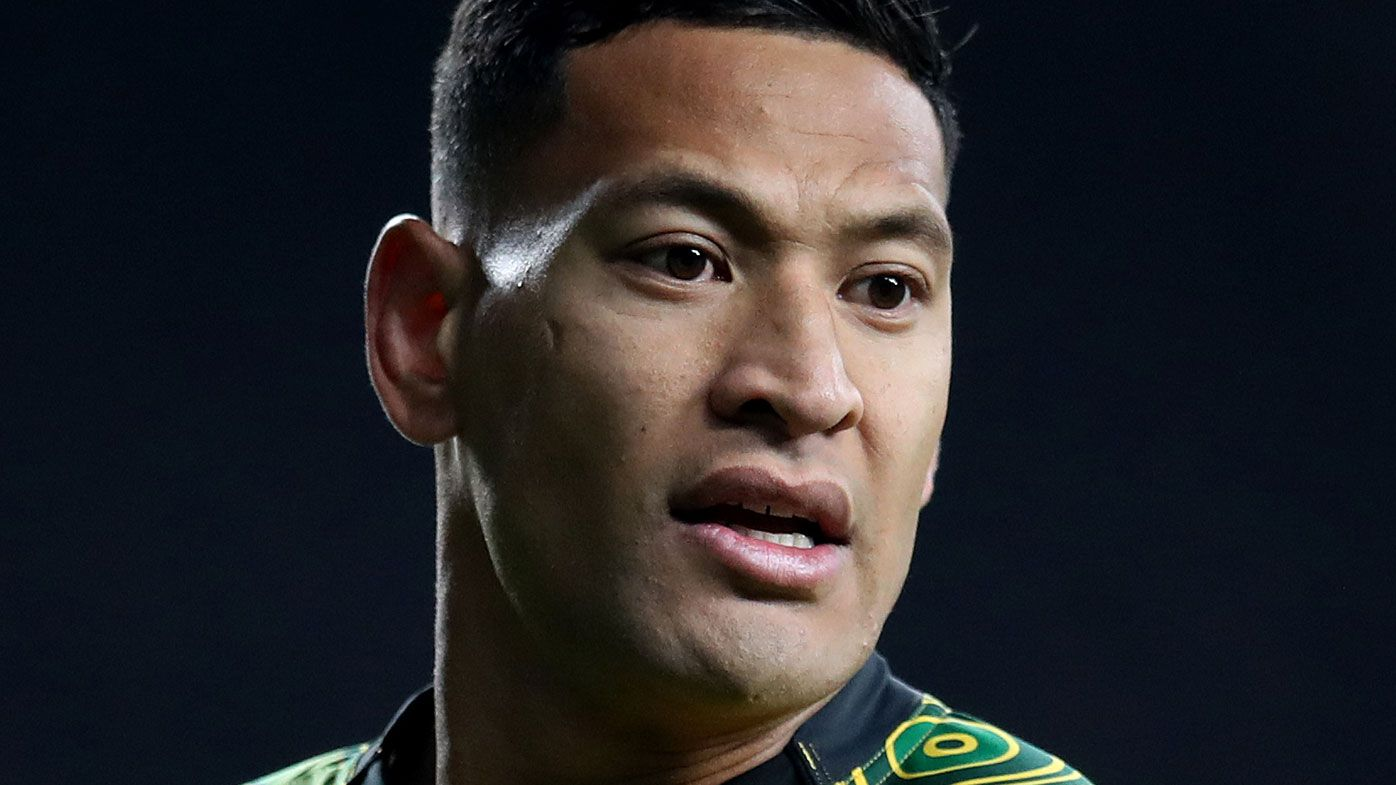 Legal action threat from Super League rival over Israel Folau's Catalans signing