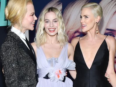 Nicole Kidman, Margot Robbie, and Charlize Theron
