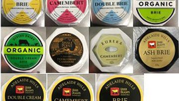 Eleven items in the Udder Delights cheese selection have been recalled amid E. coli contamination fears.