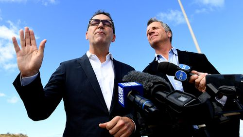 Steven Marshall also drew the ire of the electoral commission for misleading claims. (AAP)