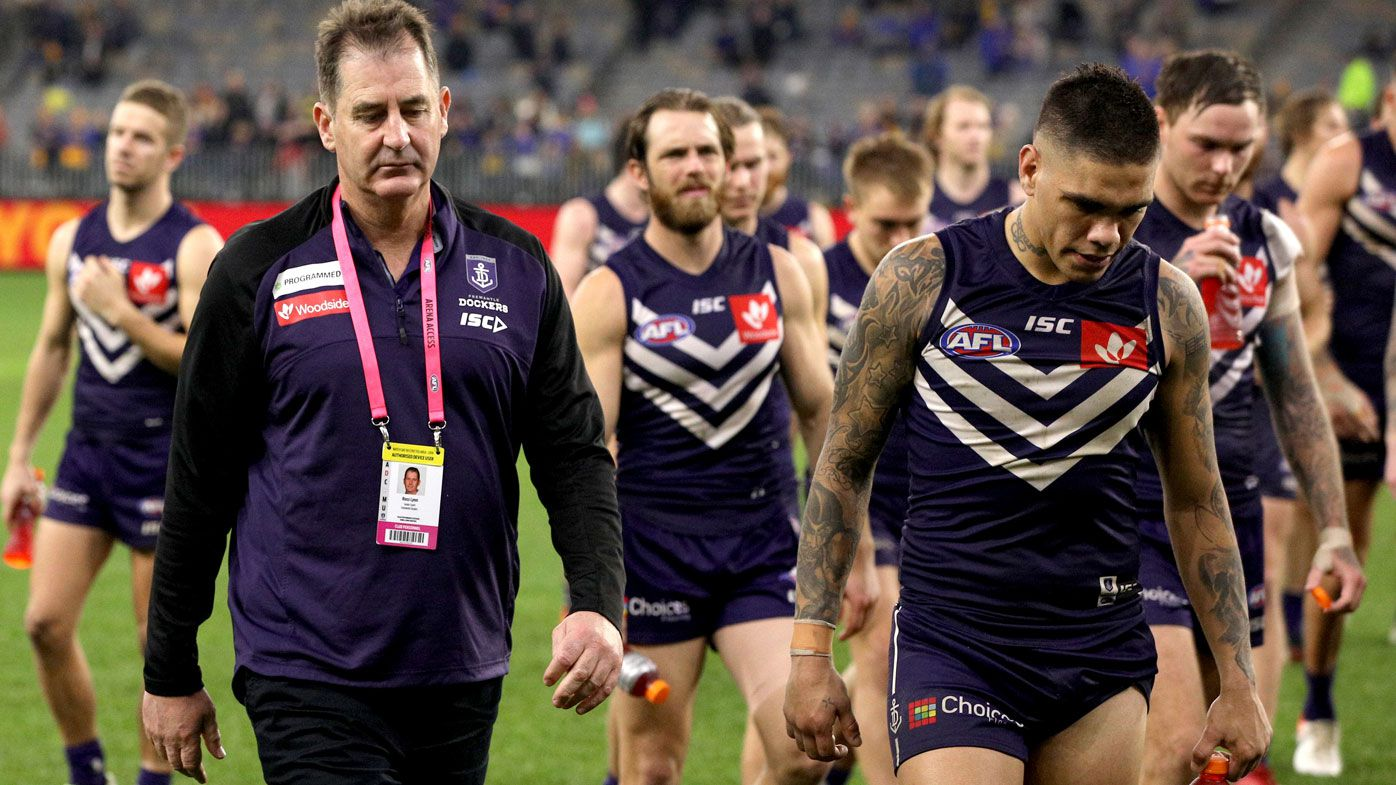 'You can't be defined by results': Dockers coach hits back after Derby disaster