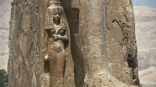 Ancient queen's tomb uncovered in Egyptian city