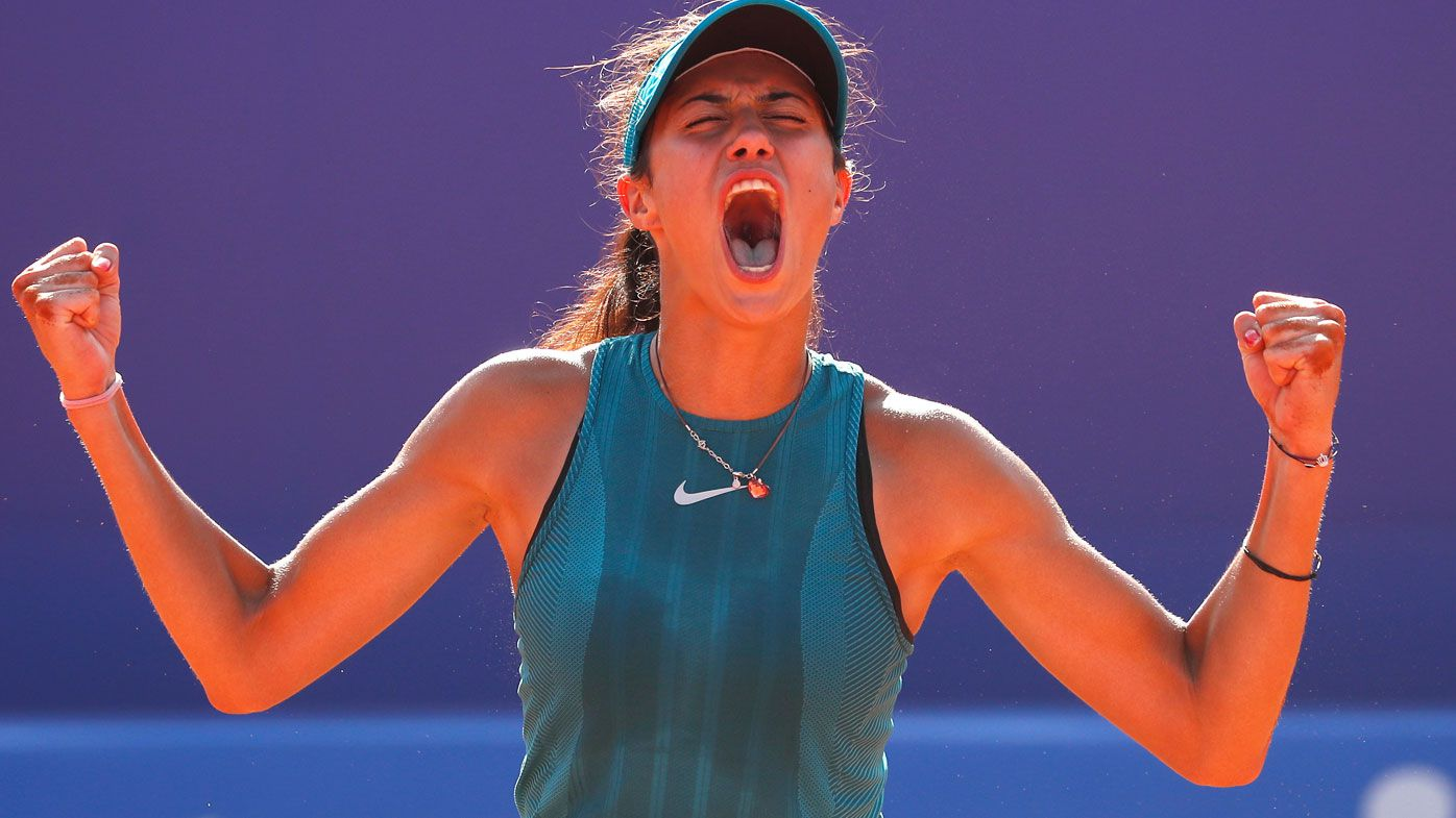 Teenager Olga Danilovic claims first WTA title in Moscow to make history