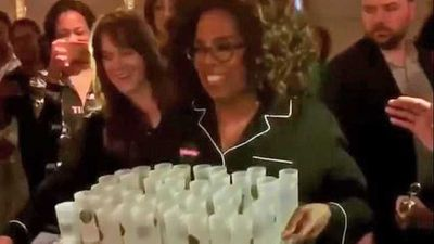 Oprah passes out tequila shots to cruise ship guests