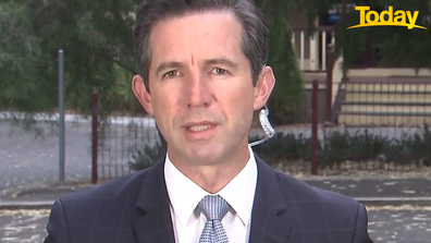 Simon Birmingham defended the current quarantine scheme.