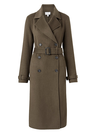 "<p><a href=""https://witchery.com.au/product/60205283"" target=""_blank"">Witchery Stitch Detail Coat, $449.95.</a></p> <p>It's not cheap, but this coat will hide anything and everything. You could be straight-up naked under this and you'll still look stylish as heck. </p>"